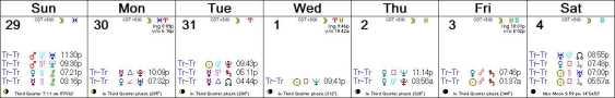 2016 W23 Calendar (Weekly)