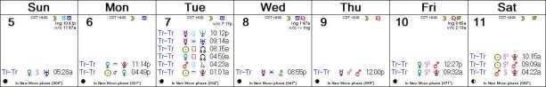 2016 W24 Calendar (Weekly)