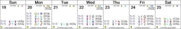 2016 W26 Calendar (Weekly)