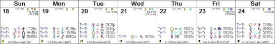 2016 W39 Calendar (Weekly)