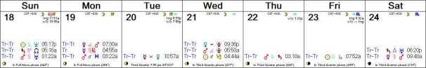2016 W52 Calendar (Weekly)